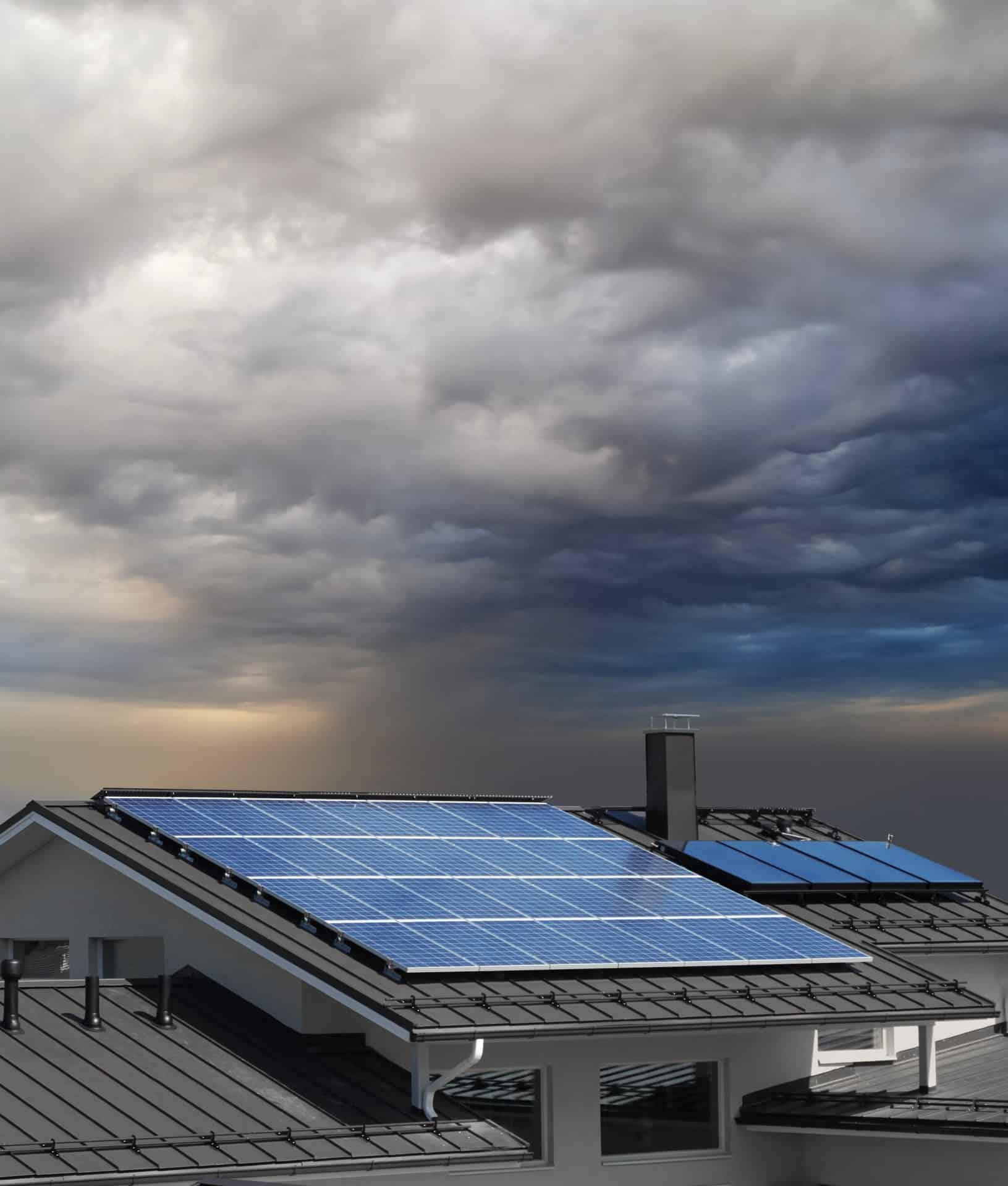 solar power not sunny